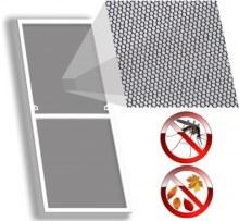 Москитная сетка на пластиковое окно 375×1325 мм