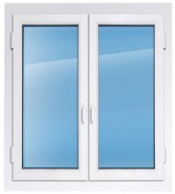 Пластиковое окно REHAU 2100×1500 мм производство пластиковых окон