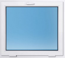 Пластиковое окно REHAU 500×500 мм фрамужное