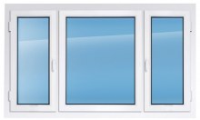 Пластиковое окно KBE эксперт 1700×2400 мм