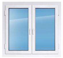Пластиковое окно KBE эксперт 1400×1400 мм