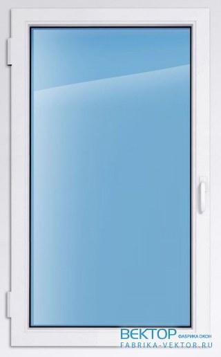 Пластиковое окно KBE эксперт 2000×1000 мм