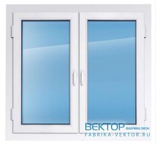 Пластиковое окно KBE эксперт 1800×1500 мм