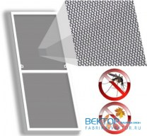Москитная сетка на пластиковое окно 870×1140 мм
