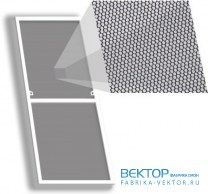 Москитная сетка Стандарт на окно 780×1565 мм