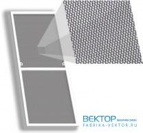 Москитная сетка Стандарт на окно 520×1100 мм