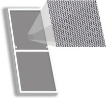 Москитная сетка Антикошка на окно 445×1450 мм