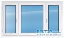 Пластиковое окно REHAU 1800×2100 мм производство пластиковых окон