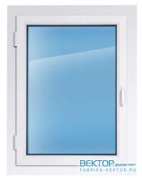 Пластиковое окно REHAU 2000×1000 мм производство пластиковых окон